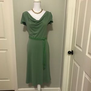 Express Green Party Dress